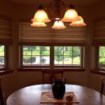 Cordless Flat Panel Roman Shade by Comfortex - Columbia Blinds and Shutters