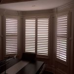 Dining Alcove Shutters - Columbia Blinds and Shutters