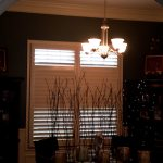 Dining Area Norman Shutters - Columbia Blinds and Shutters