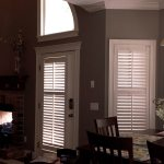 French Door with divider rail and tilt bar - Shutter - Columbia Blinds and Shutters