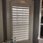 Norman shutter invisible tilt shutter 3.5 inch louvers. columbia blinds and shutters. missouri after1