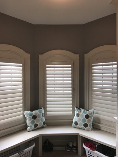 Norman shutter invisible tilt shutter 3.5 inch louvers. columbia blinds and shutters. missouri after2