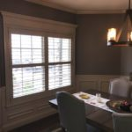Norman shutter invisible tilt shutter 3.5 inch louvers. columbia blinds and shutters. missouri after4