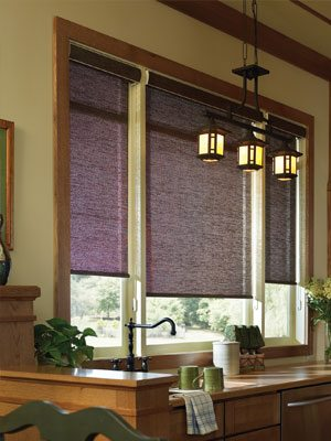 Roller Shades in Cordless and Continuous Cord Loop from Columbia Blinds and Shutters in Missouri