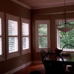 Shuttered Bay windows (4) - Columbia Blinds and Shutters