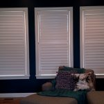 Shutters in Family room - Columbia Blinds and Shutters