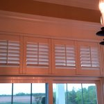 Shutters over Patio Doors - Columbia Blinds and Shutters