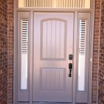 Side light shutters for front door surround - Columbia Blinds and Shutters