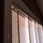 Skyline Gliding Panel close-up Vertical - Columbia Blinds and Shutters