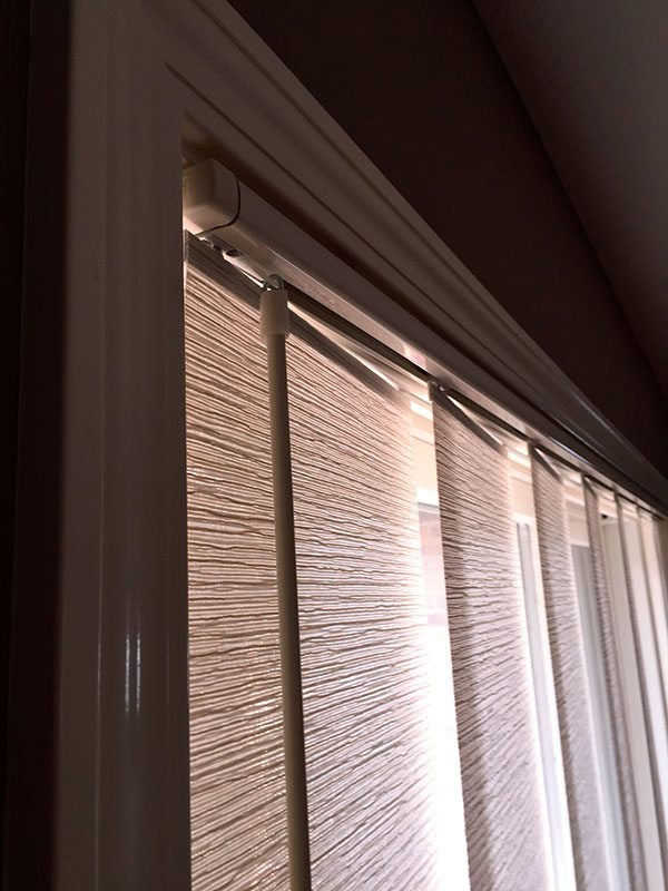Verticals Pvc Faux Amp Fabric Columbia Blinds And Shutters
