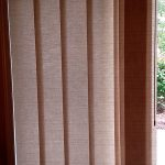 Skyline fabric gliding panels from Hunter Douglas Vertical - Columbia Blinds and Shutters
