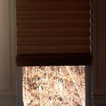 Vignette Roman Shade from Paladium shelf in LV - Columbia Blinds and Shutters