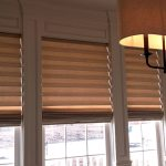 Vignettes Roman Shade in Dining room - Columbia Blinds and Shutters