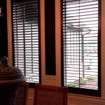 Wood stained Shutters (4) - Columbia Blinds and Shutters