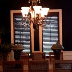 Wood stained Shutters (5) - Columbia Blinds and Shutters