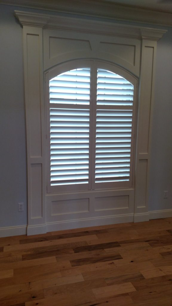 Arched Shutters At Old Hawthorne Columbia Blinds And