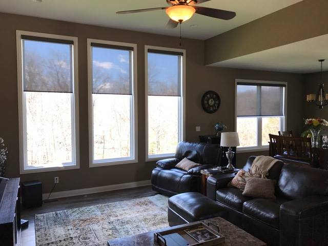 Comfortex Motorized Roller Shades Columbia Blinds And