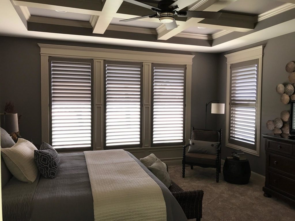 Custom Painted Shutters Can Provide Just The Right Touch To