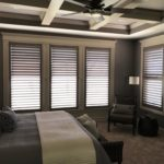 Custom painted shutters can provide just the right touch to your interior design installed by Columbia Blinds and Shutters 2