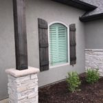 Norman Shutters Add Curb Appeal to Your Home installed by Columbia Blinds and Shutters 1