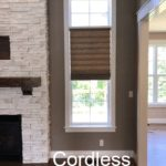Roman Shades,cordless, hunter douglas literise, columbia blinds and shutters