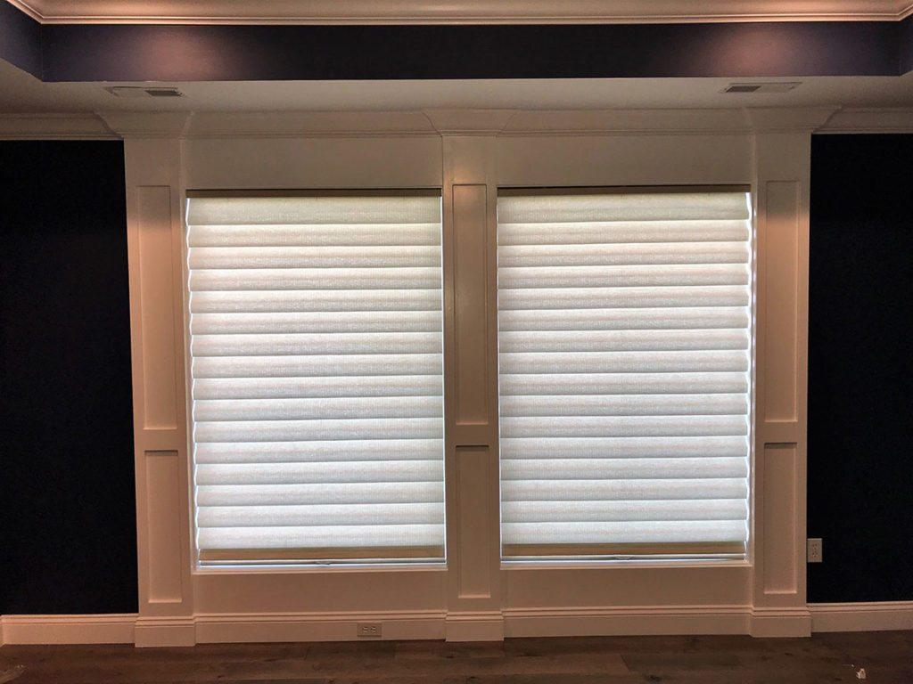 Side By Side Hunter Douglas Cordless Vignettes Columbia